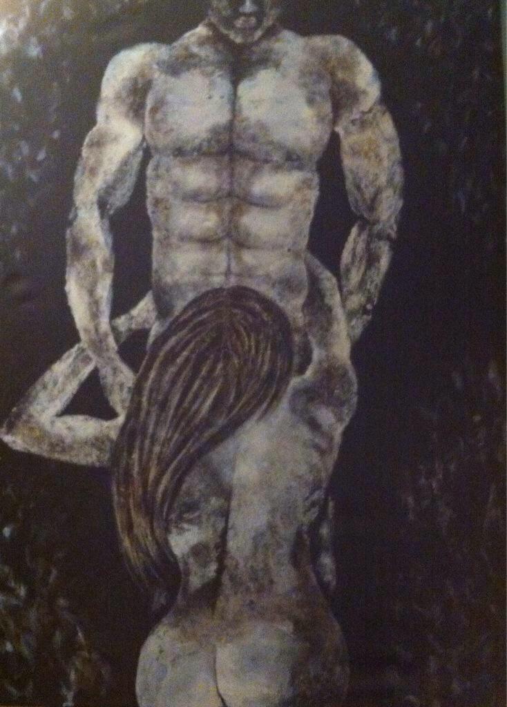 RK Kaloger on Twitter: #LateNite #art #NakedArtist style