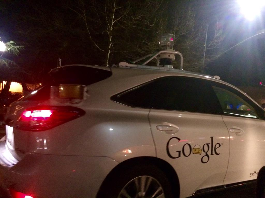 You know you live in #SiliconValley when ... the Google self driving car is one of the better drivers on the road http://t.co/gskR5j5j6l