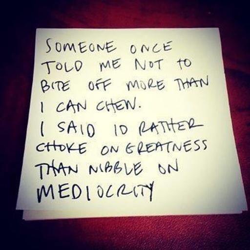 MEDIOCRITY IS NOT FOR ME!!! HOW ABOUT YOU? #entrepreneur #smallbiz #smallbusiness #success #startup #crowdfunding<br>http://pic.twitter.com/vYmUtx3ULS