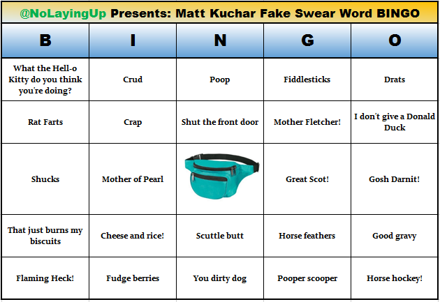 Results For Matt Kuchar Fake Swear Word Bingo Create An Alert