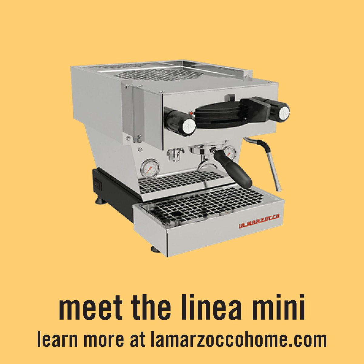 Meet the Linea Mini: the newest addition to the La Marzocco family.  Learn more at http://t.co/tcBCcGsCrW http://t.co/IPz1BqJfJQ