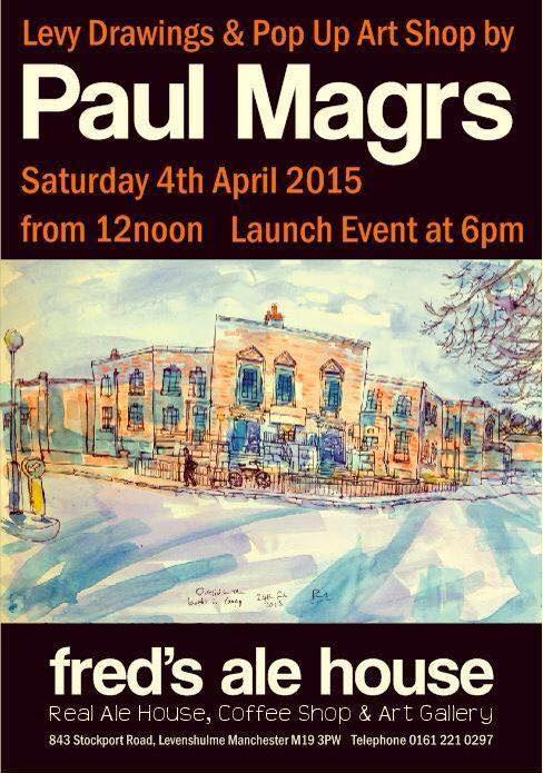 My first art show -4th April. Manchester. Please retweet this poster! http://t.co/sEmVB4hqKz