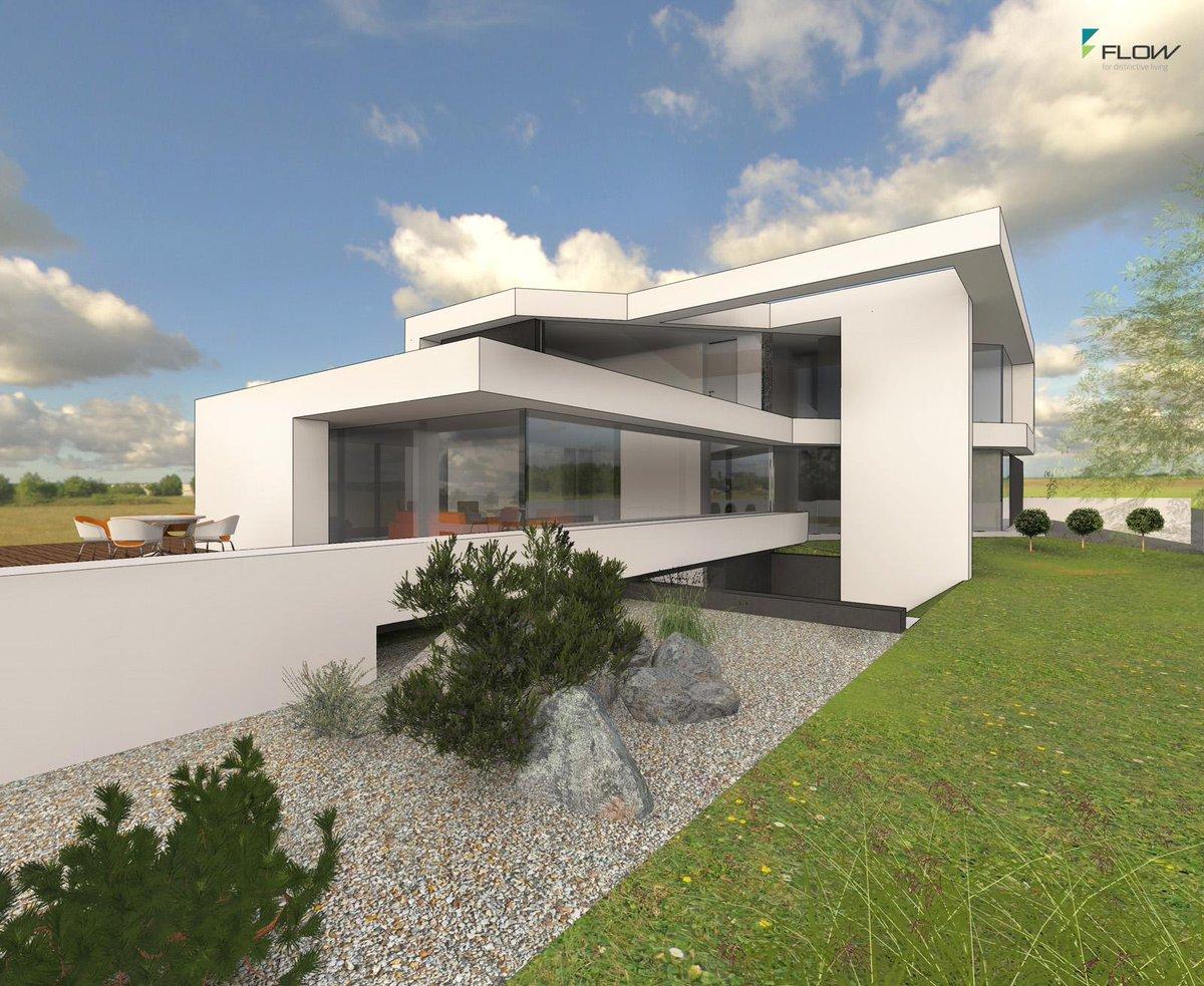 Gmbh flowarchitektur twitter for Flachdachhaus mit doppelgarage