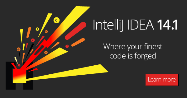 IntelliJ IDEA 14.1 is here, loaded with new features and improvements! Check it out. http://t.co/P1M9GnNU2W http://t.co/55G2SOdZZB