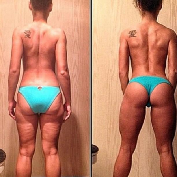 "Jonny Young Fitness on Twitter: ""Before squats.. After squats! # ..."