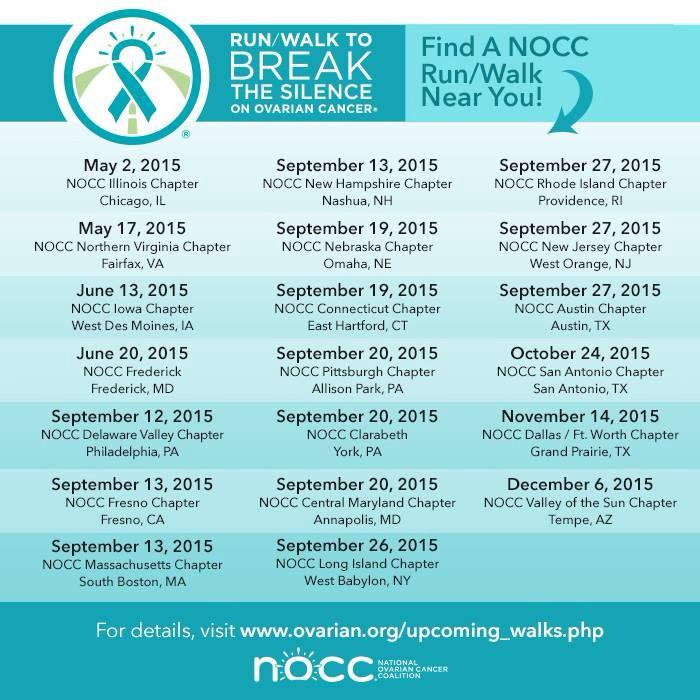 Nocc Nyc Chapter On Twitter Tealtuesday Come Run Walk With Us On September 26 Http T Co Mb6i8ogckc