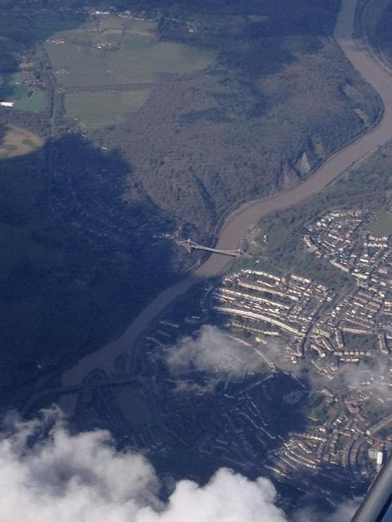 RT @TAAUK: Clifton from 12000ft today. Enroute Newquay. #Clifton @carolvorders JP http://t.co/HtCl4qrbX5