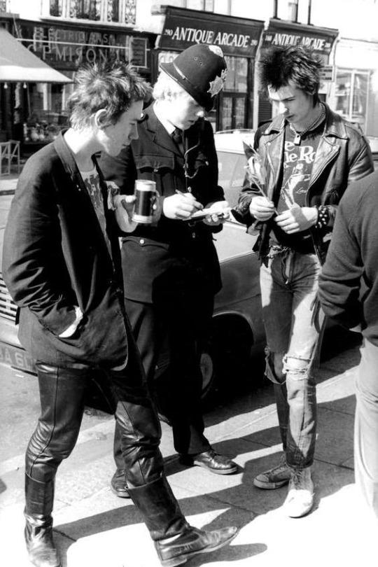London in 1977