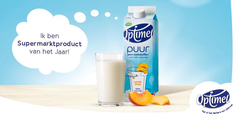 Bedankt voor jullie stem! Onze 1e frisse, lichtfruitige drinkyoghurt = Supermarktproduct vh Jaar bij @eibertjekiest!