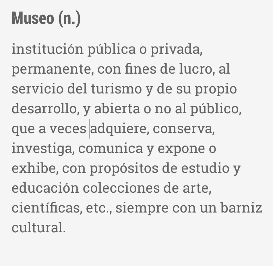 Me acuerdo de cuando los museos se intentaban ajustar a la definición del @IcomOfficiel y no a algo así #souvenirsMW http://t.co/l0RefiPEPP