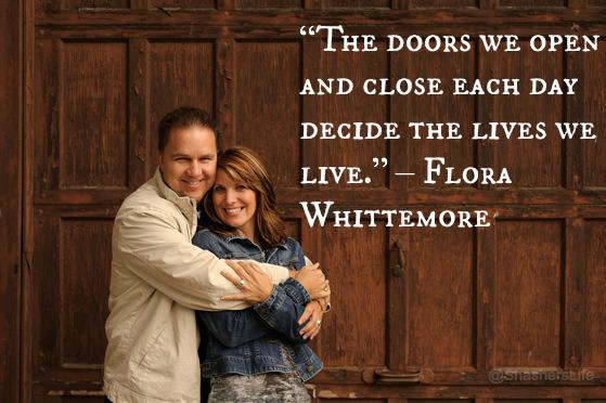 """""""The doors we open and close each day decide the lives we live."""" – Flora Whittemore #ManulifeReady http://t.co/am2SEsIHlj"""