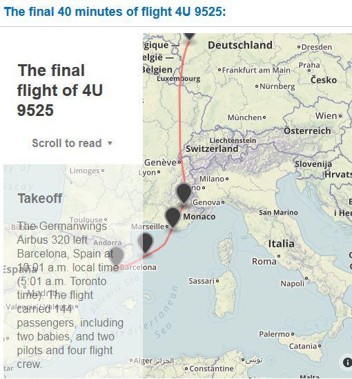 Tracking the final 40 minutes of flight #4U9525.  http://t.co/rnu0qQqPH7 http://t.co/yfKZtPc0fg