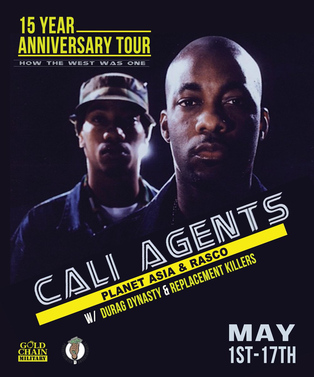Cali Agents ( @SolefatherRasco x @planetasia ) / @DuragDynasty Live in Zagreb (May 2nd) ---> http://t.co/pXEe1oEHTX http://t.co/2Ss6OpNXPN
