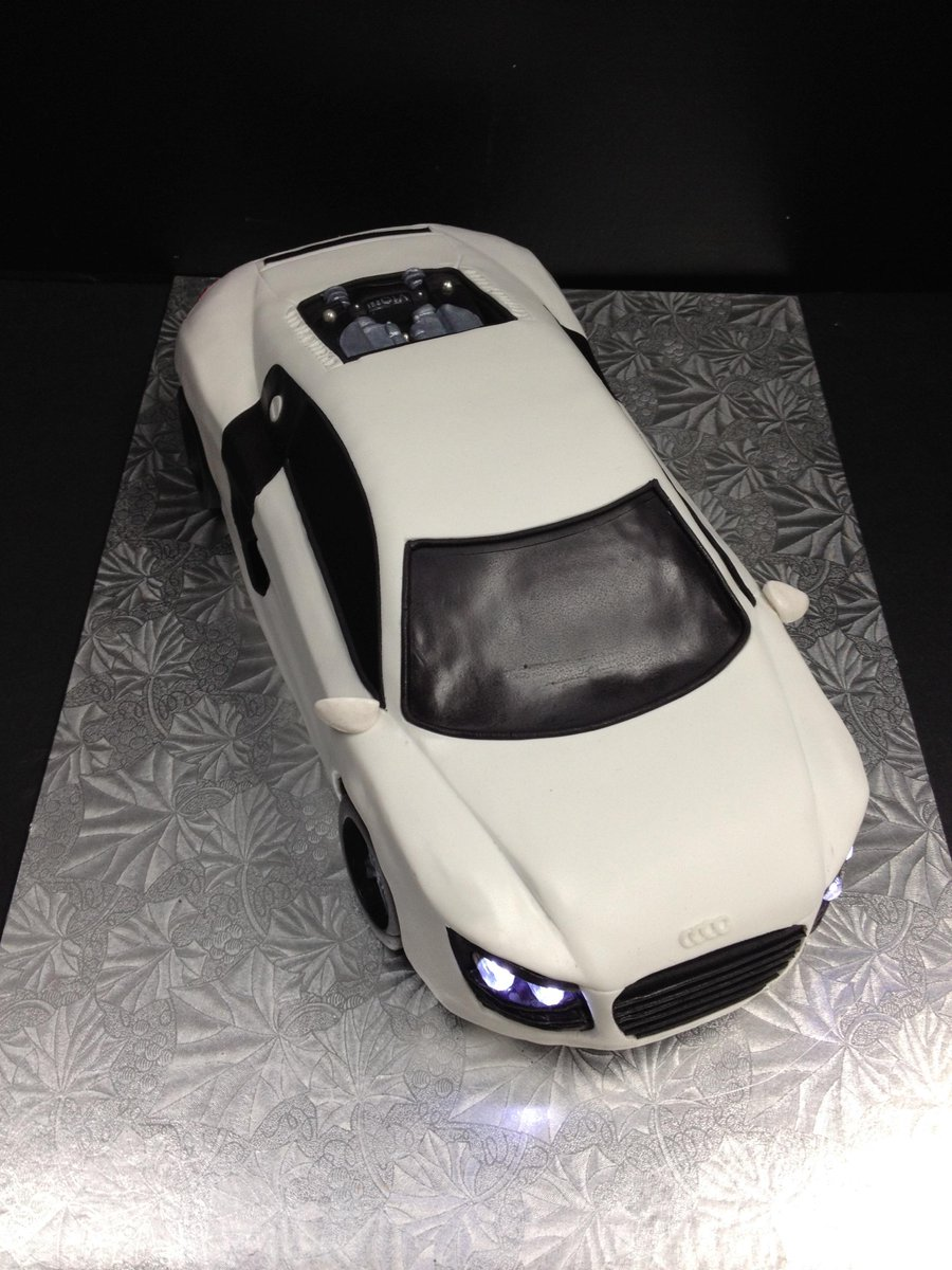 Cakes By Candace On Twitter Vroom Vroom This Audi R8 Cake Is Revving Its Engine And Getting Ready To Light Up Some Taste Buds Yegfood Http T Co Af6wowvl8h
