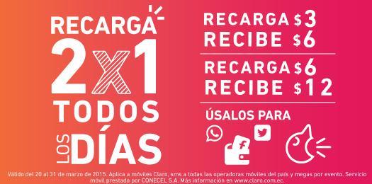 0c18ce7fe31 Claro Ecuador on Twitter