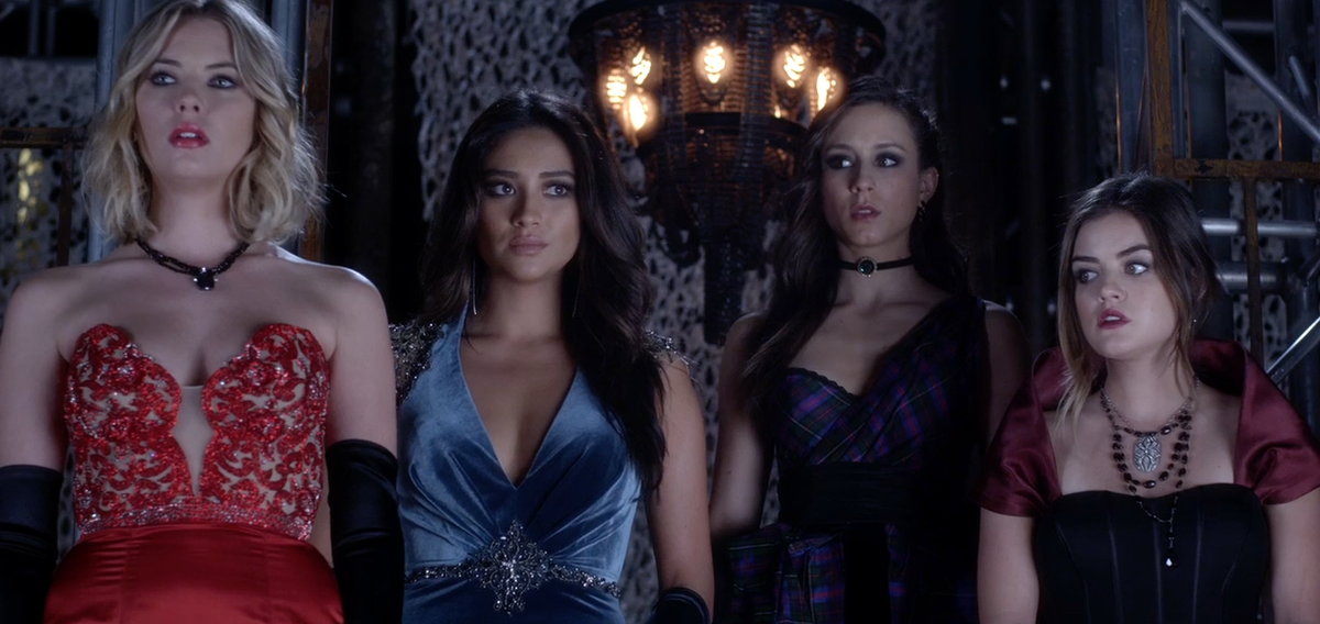 The #PLL prom dresses are gorgeous! #BigAReveal