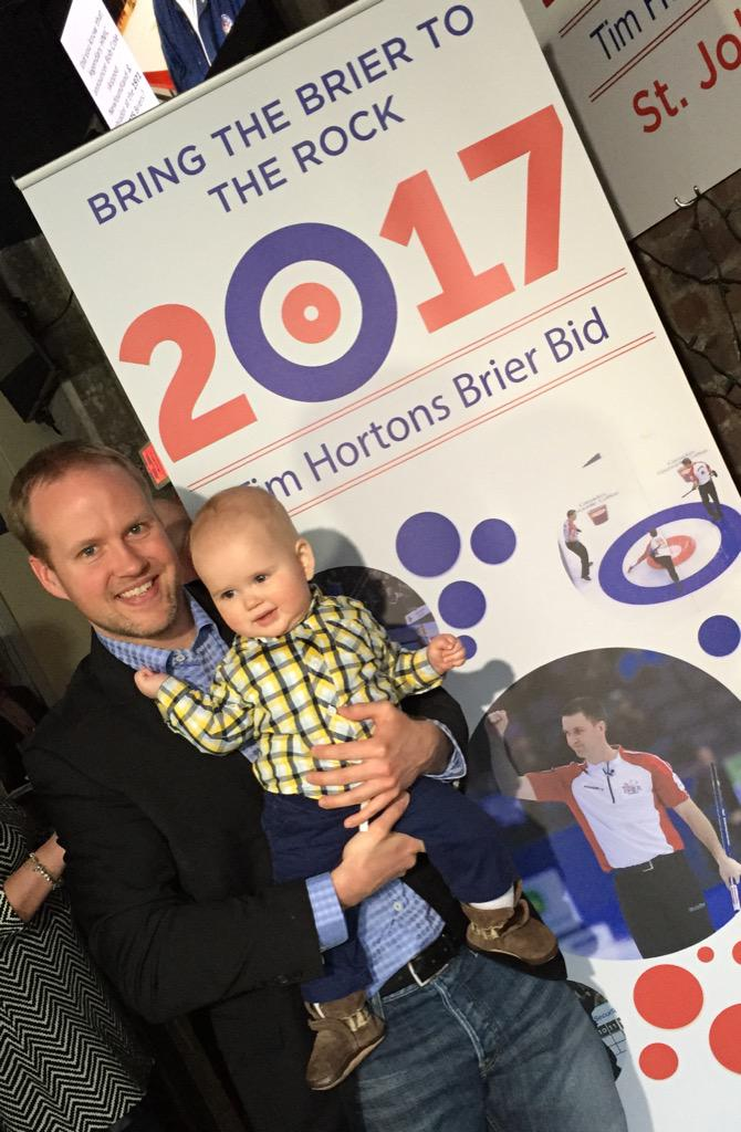father Mark Nichols and baby Beckett Hugh Nichols