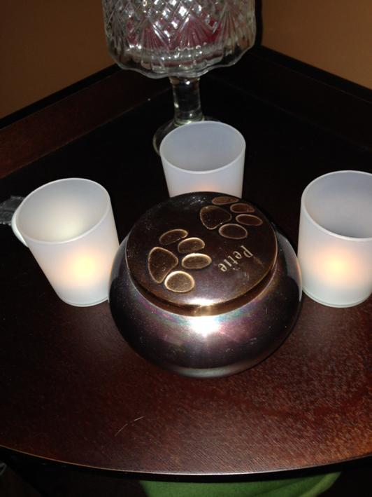 Petie candles burning g tonight http://t.co/gc5jfyf9D6