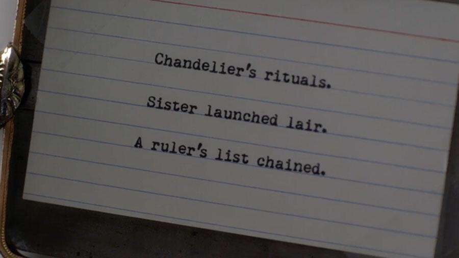 """To ones asking me who Charles is: rearrange those letters. They all say """"Charles DiLaurentis"""" #BigAReveal #PLL http://t.co/AUxyzjZBkG"""
