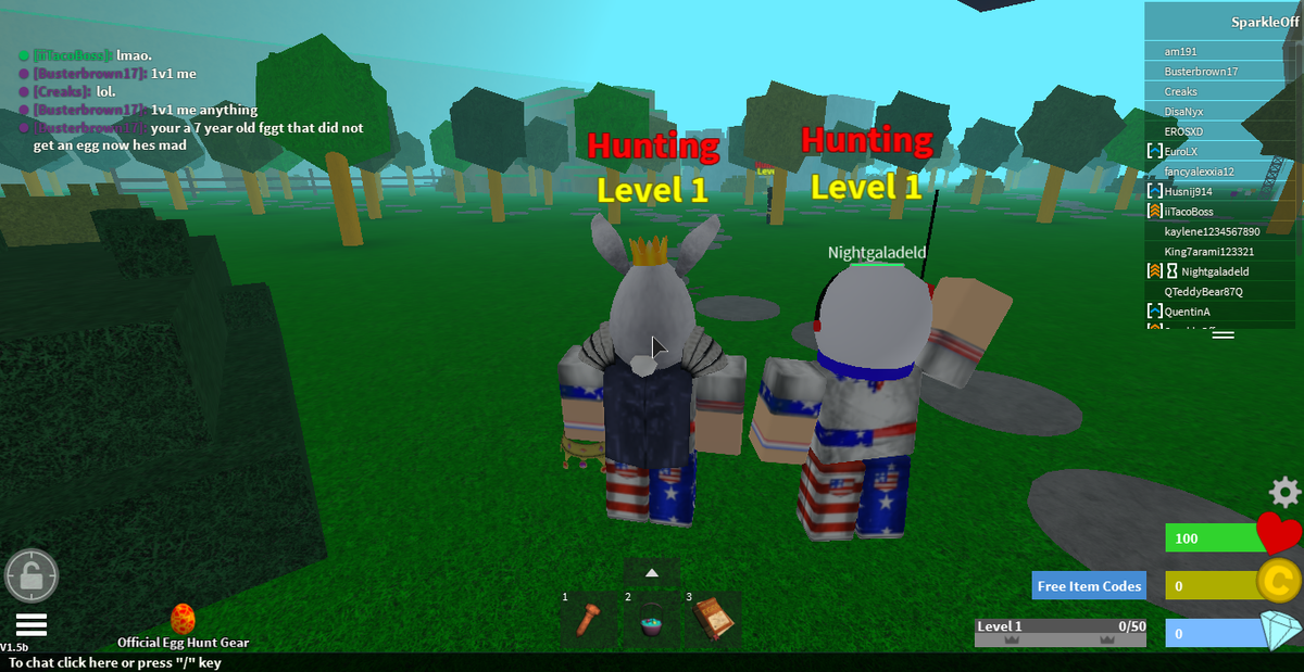 Egg Hunt 2015 Roblox Nightgaladeld On Twitter Mazuxrblx Eurolx Rblx Roblox I M The Most Serious Stalker On Roblox