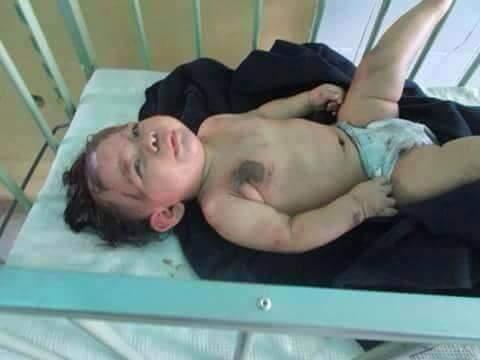 Estos niñitos sobrevivieron al accidente en Huarmey. Sus padres murieron, se busca a sus familiares.