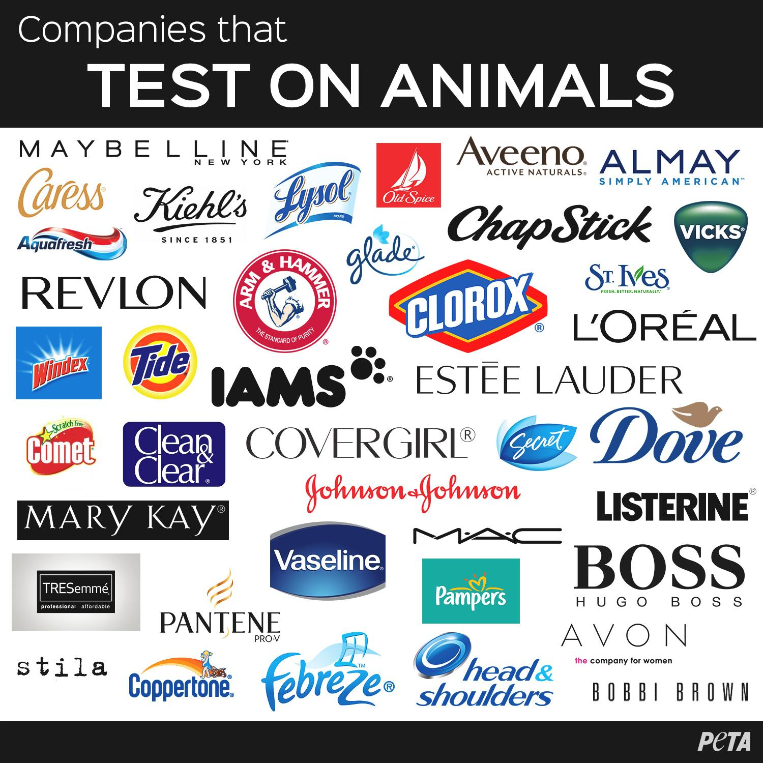 animals test companies animal peta makeup cruelty brands stop help tested them which testing cosmetics cosmetic beauty don still skin