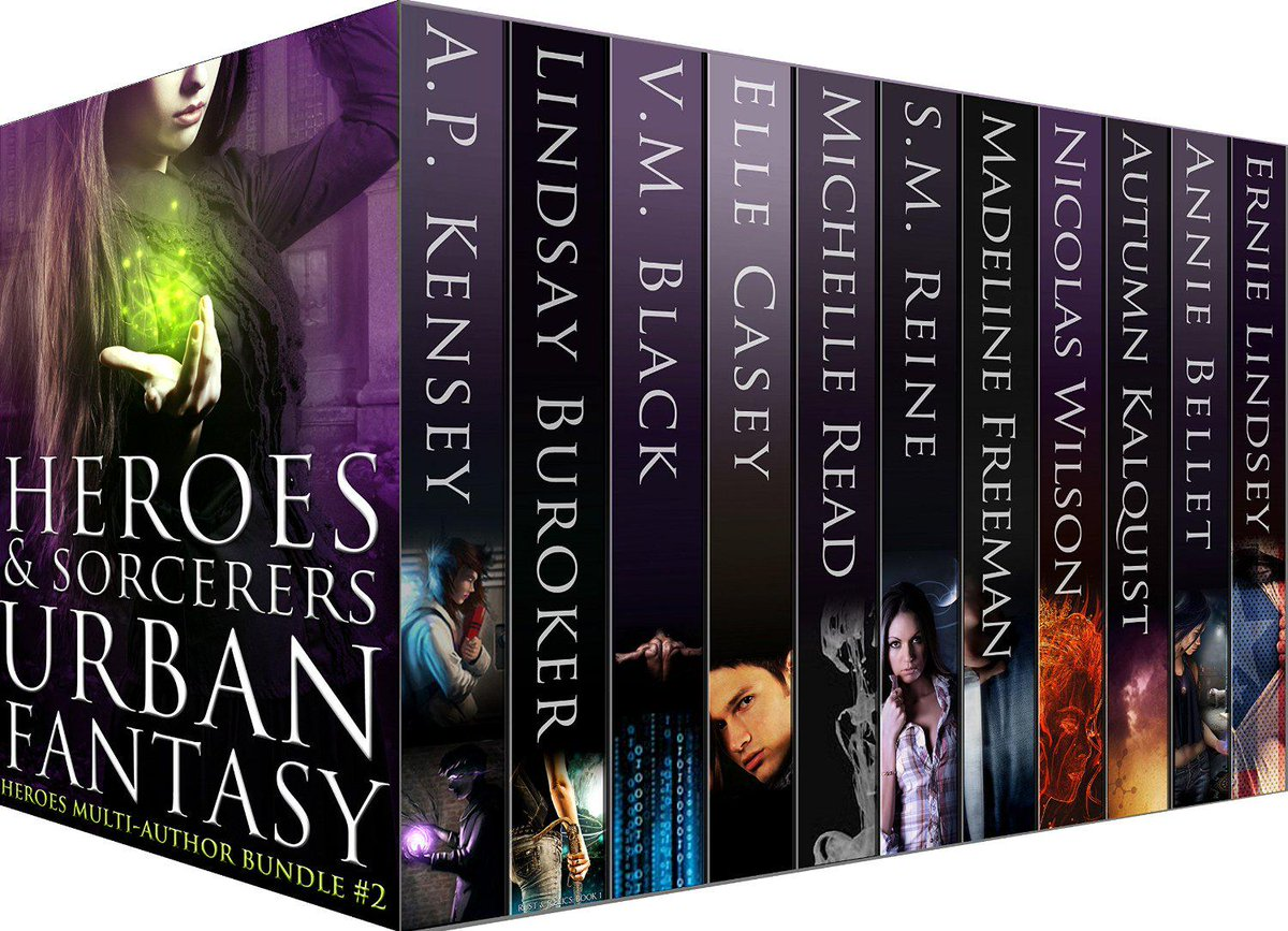 "4.5 out of 5 stars for ""Heroes & Sorcerers Urban Fantasy"" Boxset http://t.co/dsShY5T1Ba #kindle http://t.co/brCdYqQAtd"