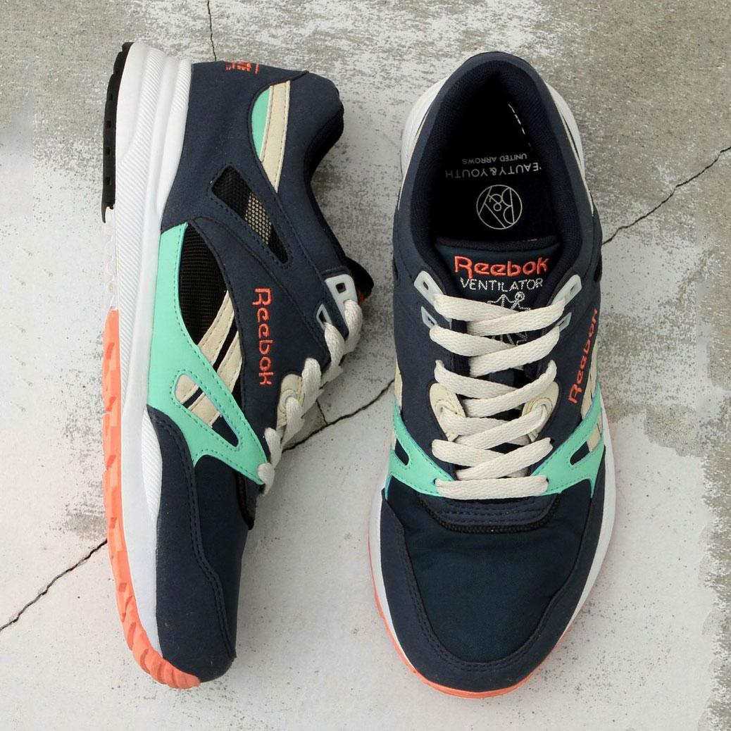 aa3b3a26423 【国内4月発売予定】 ビューティ & ユース × リーボック ベンチレーター @ReebokCLASSICjp  ⇒http://sneakerwars.jp/items/view/3811 #sneakerwars #スニーカー ...