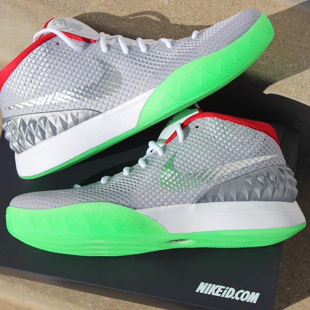 """new products 45ced 5e9c1 """" SneakerPics23  Kyrie 1 Yeezy Nike iD s. Create your own pair here   http   bit.ly 1FUdbYp pic.twitter.com sdGn6MzVni""""them grey ones is ill"""