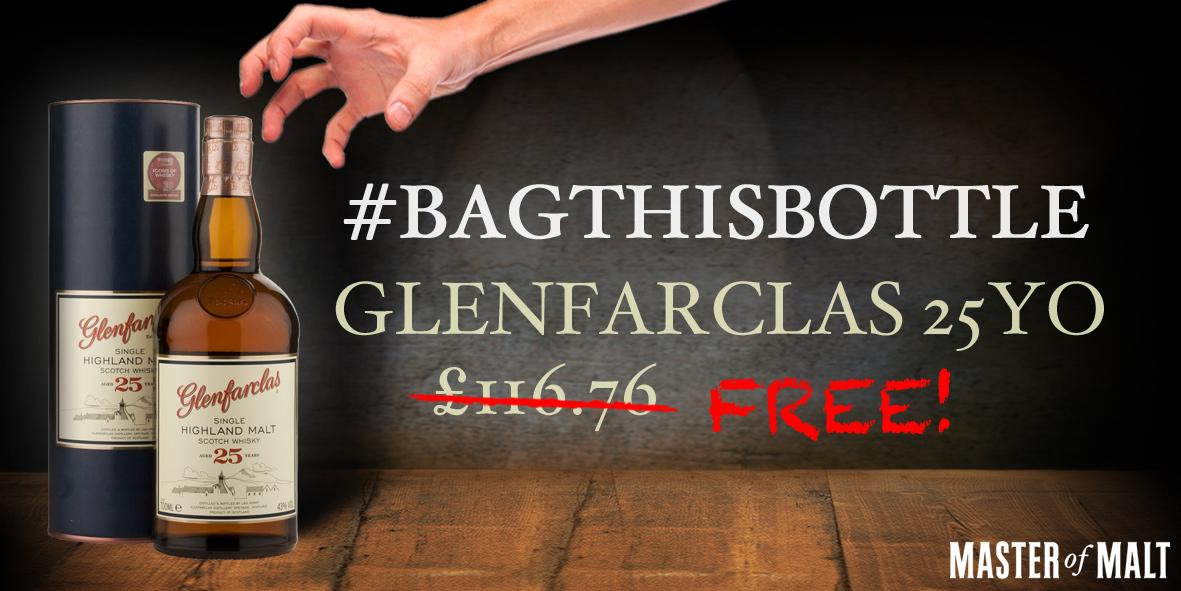 #BagThisBottle! RT + Follow both @MasterOfMalt and @glenfarclas for your chance to win! http://t.co/mYt5g0nlhk http://t.co/bSUdl1hagP