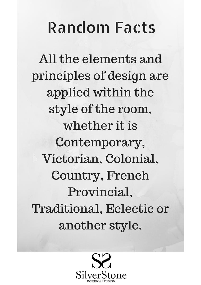 Ss Interiors Design On Twitter Random Facts 6 Interiordesign Interiors Principles Elements Design Http T Co Yerfrvsiwv