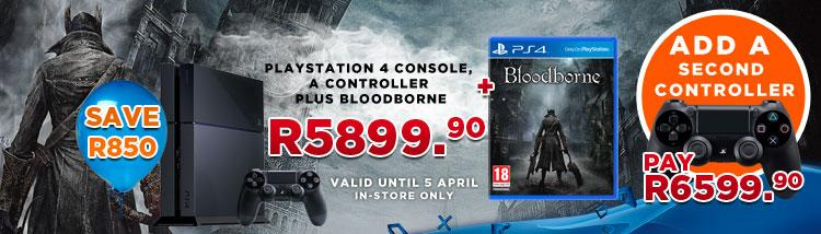 Bloodborne Ps4 Game Ps4 500gb Console Bloodborne