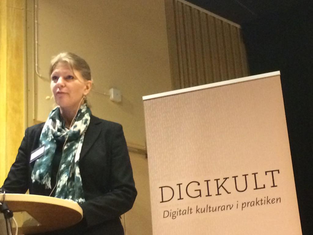 Anna Rosengren öppnar #digikult & hälsar välkomna till Göteborg! http://t.co/tnx4vPnfz8