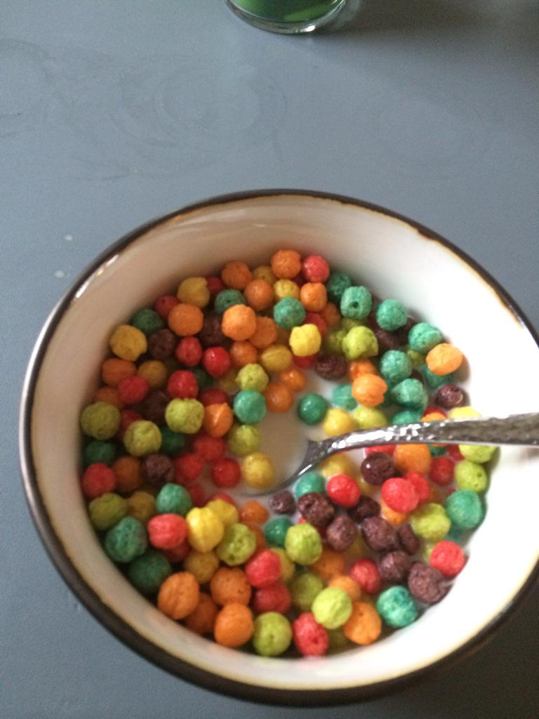 tyler on twitter back in my day trix cereal was shaped like fruit