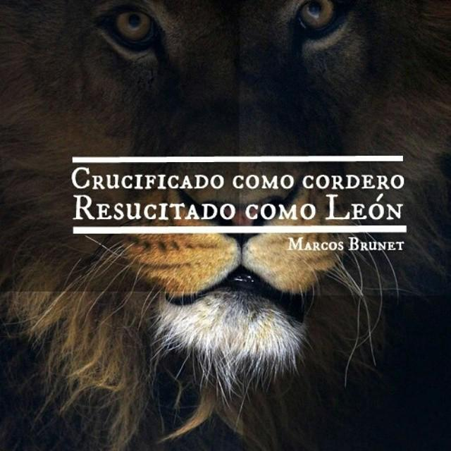 Crucificado como cordero, resucitado como León. - @marcosbrunet http://t.co/f9Be6cawLB http://t.co/4M0Kqoq3Ey