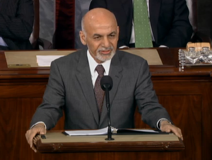 Thumbnail for Afghanistan President Ghani's Address to Congress