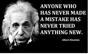 &quot;Anyone who has never made a #mistake has never tried anything new&quot; - Albert Einstein #respect #quote #advice<br>http://pic.twitter.com/C09imo0XKQ