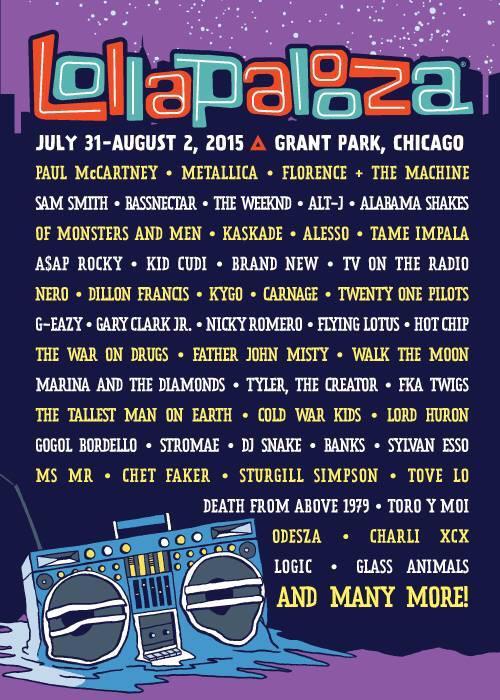 Nouvelle date américaine annoncée pour @stromae : rendez-vous cet été à #Chicago au célèbre festival @lollapalooza ! http://t.co/j09ELDgRNi