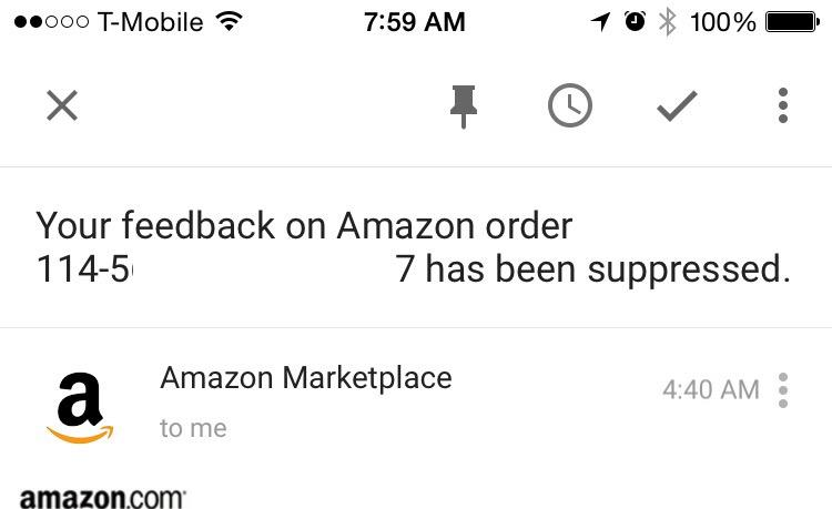 Friend had a faulty product, returned it & reviewed accordingly. @Amazon 'suppressed' his accurate review... http://t.co/gAS4rcQ5BL