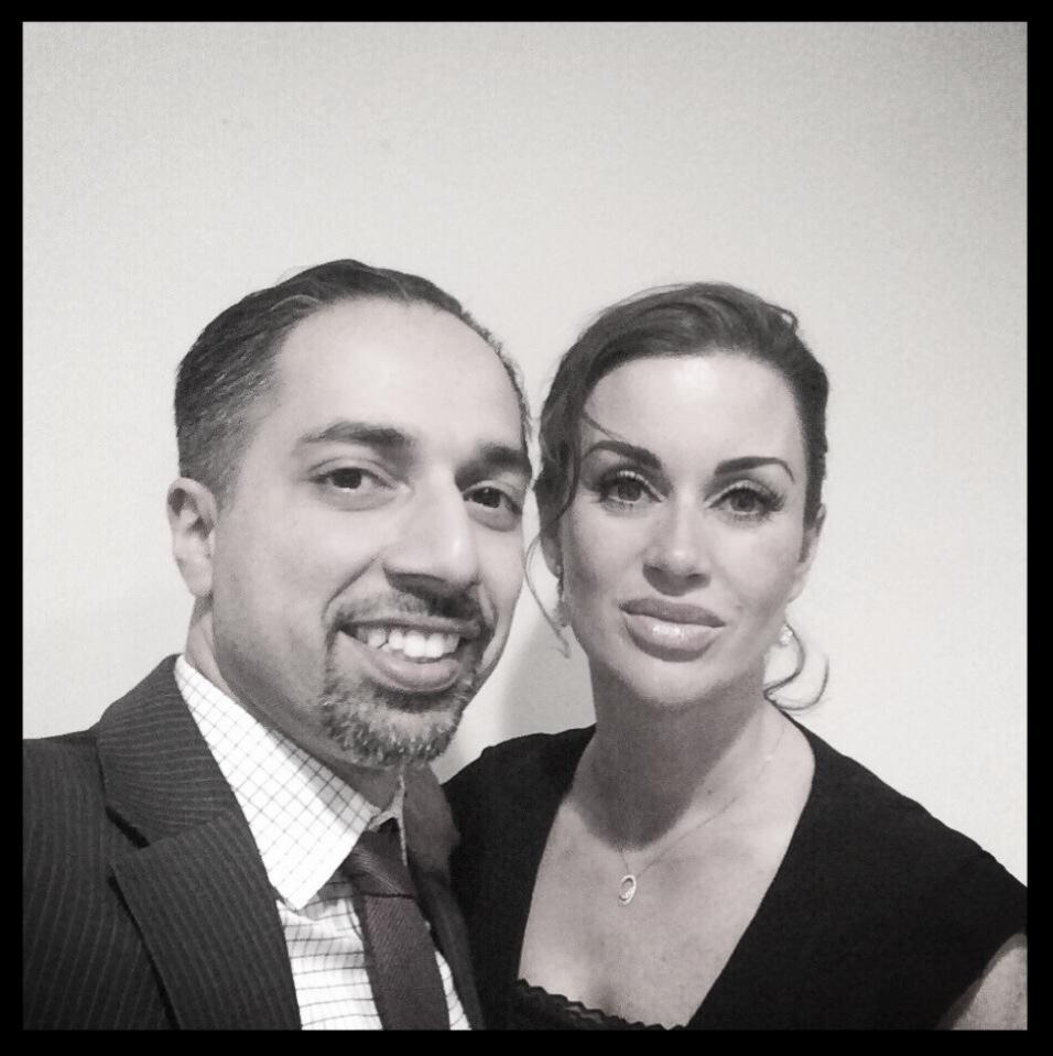 Image result for who is the wife of trita parsi