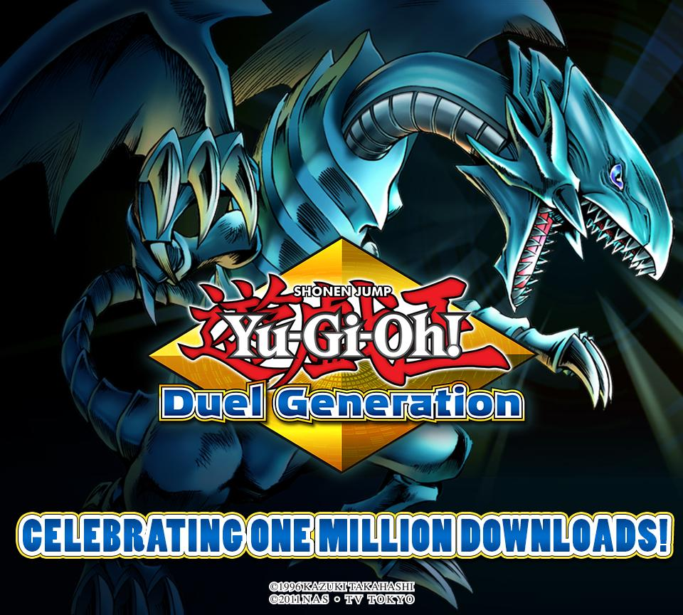 Konami On Twitter Yu Gi Oh Duel Generation Hits A Million Downloads 10 000 Duel Points If You Login March 26th Http T Co Tutjrzjled Http T Co Z3etfvqrkk
