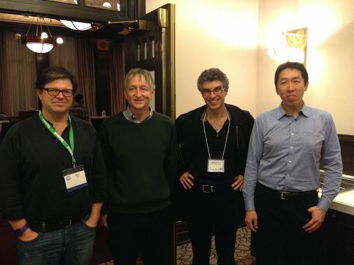 DeepLearning Gurus Yann LeCun, Geoff Hinton, Yoshua Bengio, Andrew Ng