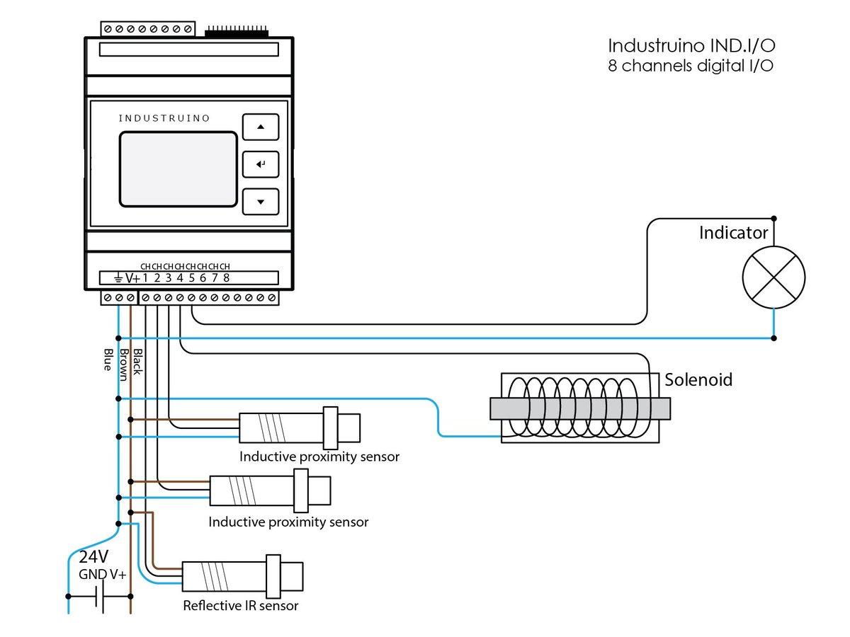 24v Relay Diagram Wiring Dc Pnp Diagrams Sensor Schematic Database