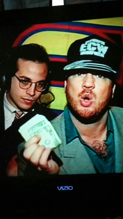 """@CBearNOJamal: Watching the @HeymanHustle DVD. @JoeyStyles was watching that money like a hawk! http://t.co/BiU3oqYbRG"" It was my money :)"