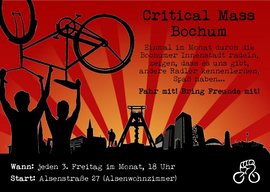 Flyer der CM Bochum