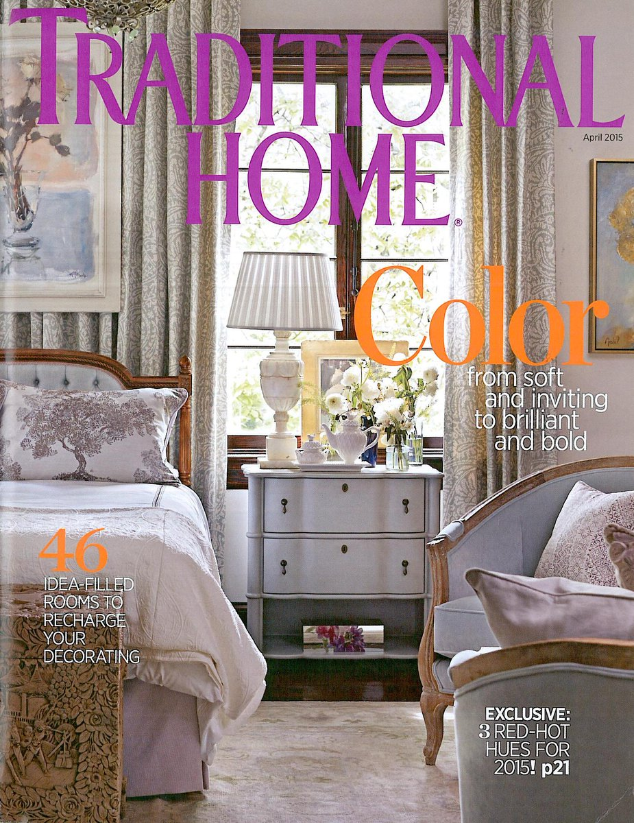 Pick up April's @traditionalhome & see 2014 @ASOShowHouse make front cover! Thrilled 2 have worked on this last year. http://t.co/3nAmLVnKHC