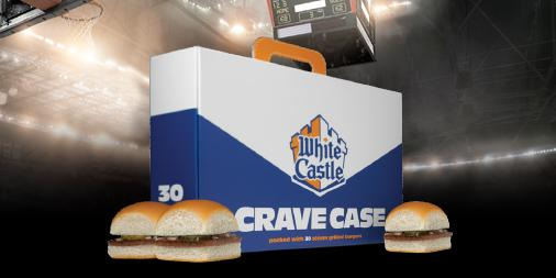 white castle crave case