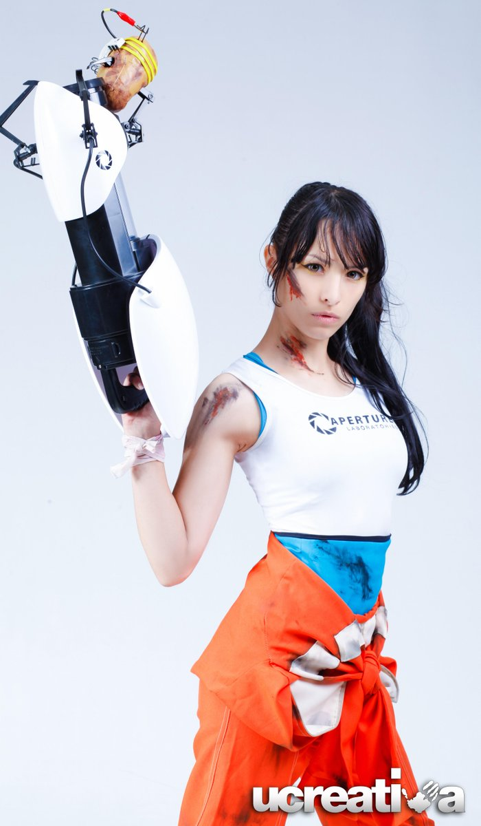 Angela Bermudez On Twitter Me As Chell From Portal