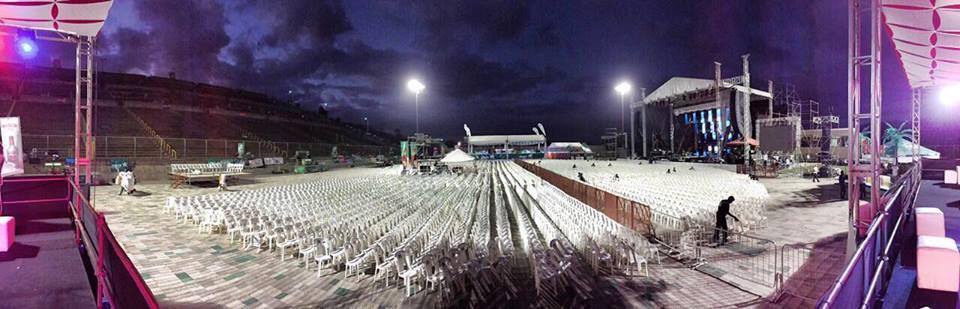 ¡El estadio está listo para recibir a Marco Antonio Solís! Estás a tiempo de comprar tu entrada... http://t.co/cQrEIQf4Hn