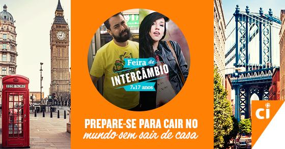 Intercâmbio + @naosalvo + @brunavieira = melhor #FeiraCI de todos os tempos A gente te espera! http://t.co/p08UQYQs1w http://t.co/QxpHMn88Ij